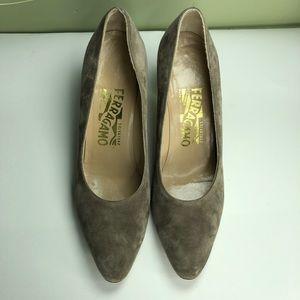Salvatore Ferragamo shoes heels women size 7AA